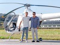 Vuelo de iniciación en helicóptero desde Axarquía