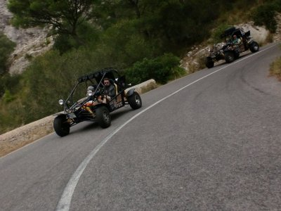 Buggy tour of northern Majorca 4 h and 30 min