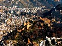 Alhambra de Granada vistas aéreas