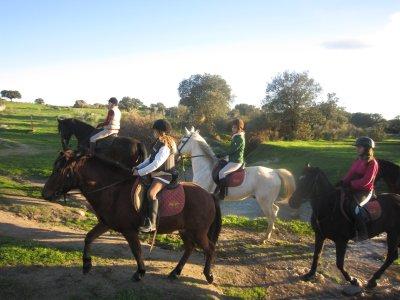 Paseo a caballo por los Berruecos 30 minutos