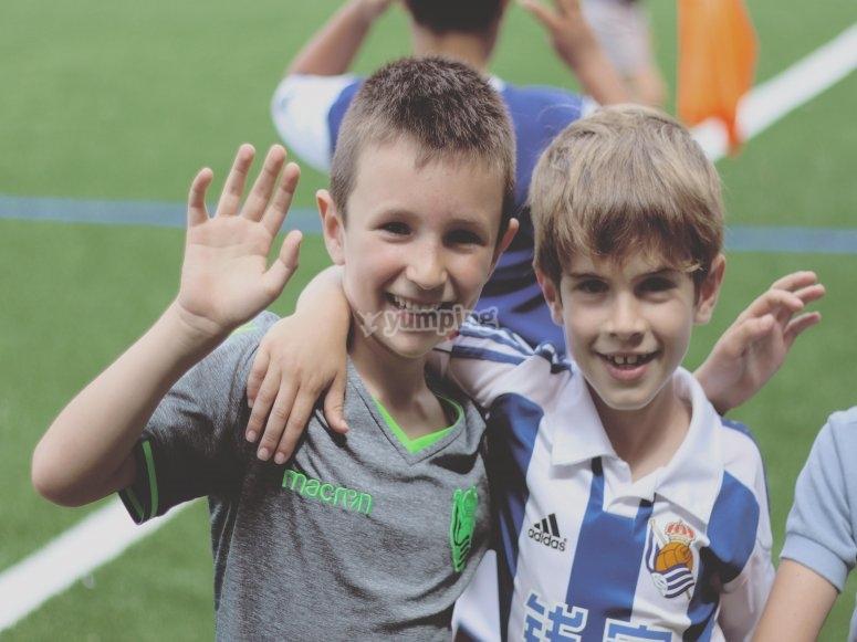 Football game for children