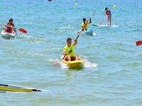 Kayaking in Huelva