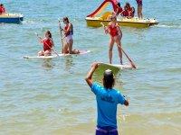 Diversas actividades en el mar Isla Cristina