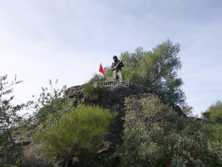 Captura la bandera