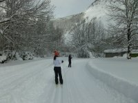 Cross-country skiing in the Pineta Valley