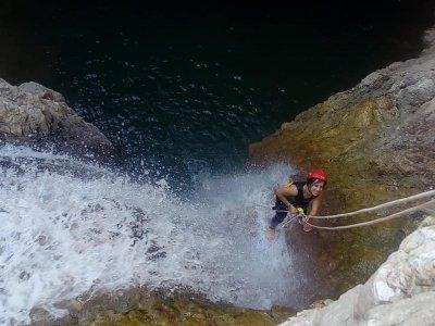 Barranquismo acuático en Priego Córdoba 3h