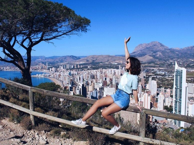 Fotografia con las mejores vistas a Benidorm