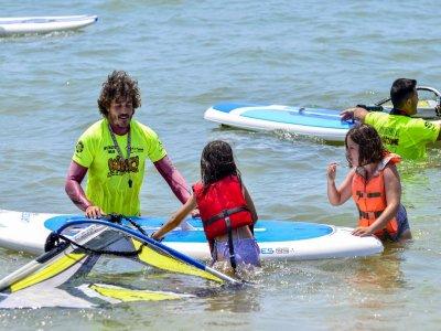 Curso estándar de windsurf en Isla Cristina 10 h