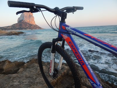 Bike rental Calpe 1 hour