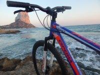 Bike ride through Calpe
