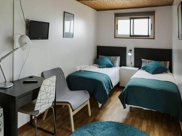 Habitación del bungaló