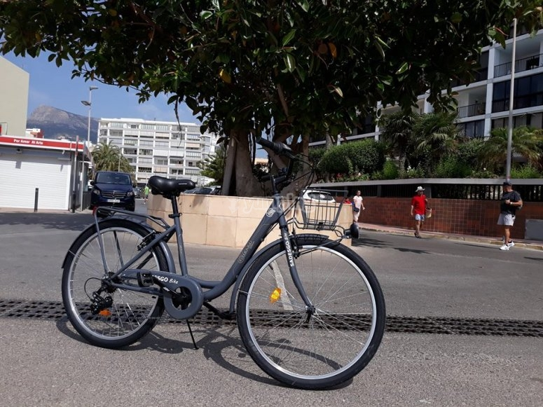 bicileta electrica en Calpe