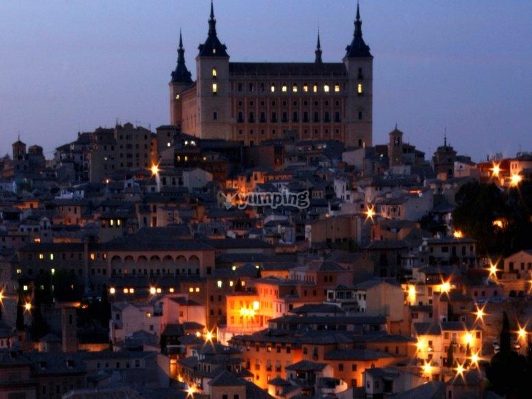 Cena en el Toledo oscuro