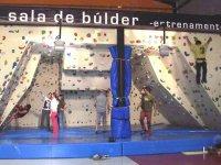 Bouldering room