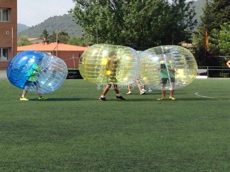 Fútbol Burbuja en Barcelona