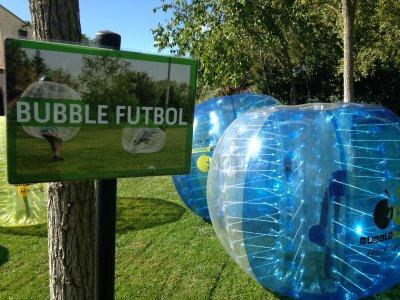 足球比赛泡泡巴塞罗那1小时半