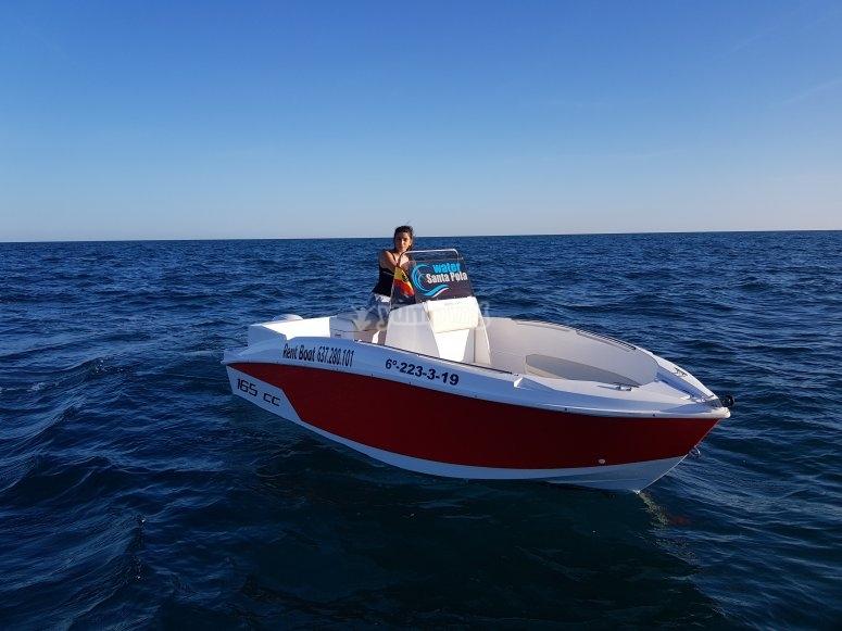 Alquiler de barco sin patron