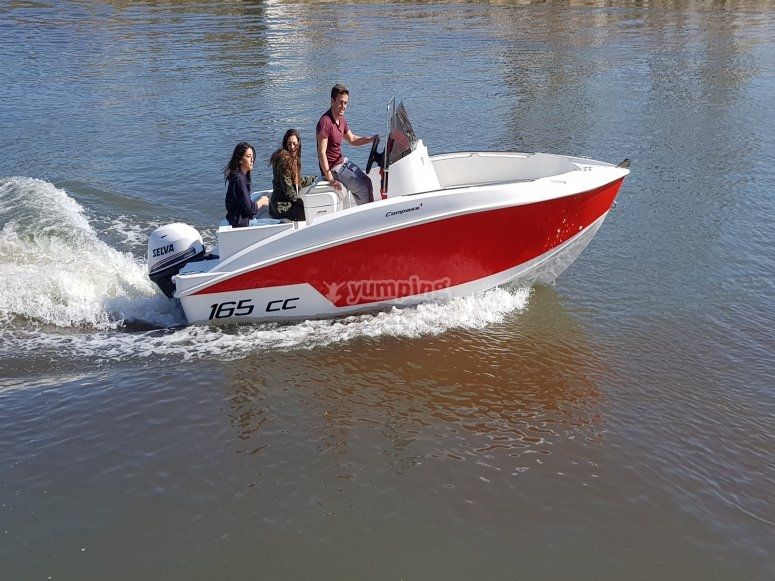 Compass 165 hp rental