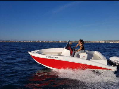 Boat rental Compass without license Torrevieja 4h