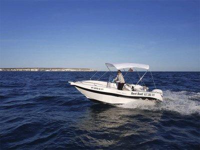 Noleggio barche Voraz 5,00 senza patente Santa Pola 4h