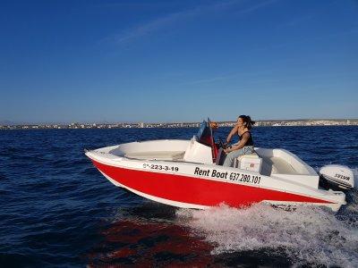 Alquiler barco Compass Sin patrón Alicante 8 h