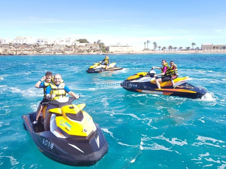 Alquiler moto de agua Alicante sin licencia