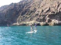 Lo pasarás genial haciendo paddle surf