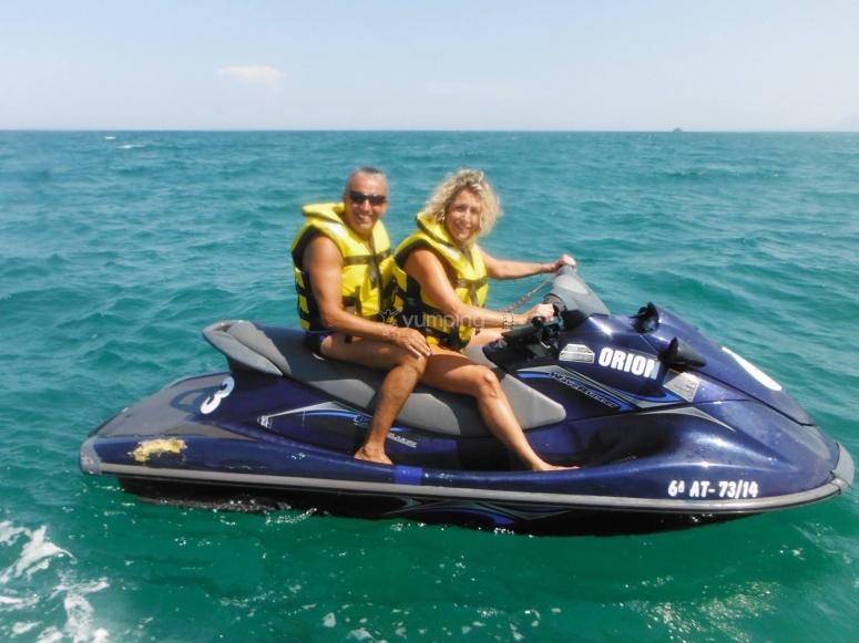 甘迪亚海岸摩托艇路线