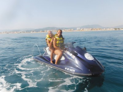 Double-seater jet ski tour in Gandía, 1 hour