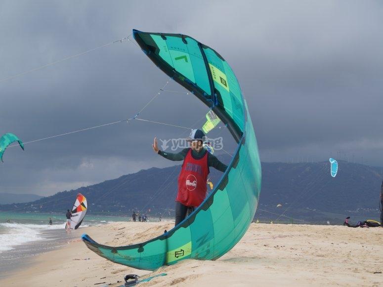 风筝冲浪的理想风力条件