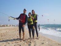 两人的风筝冲浪课程2小时