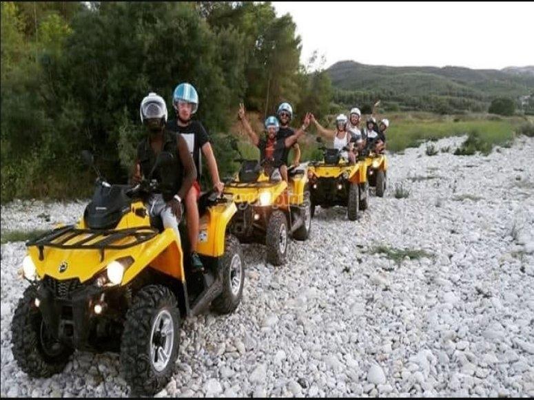 Ruta en quads por Gandía