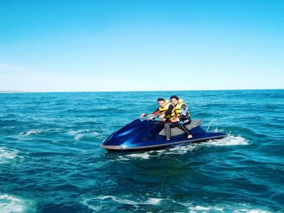 Jet ski and 2-seater quad tour in Gandía