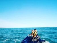 Moto de agua y ruta en quad biplaza en Gandía