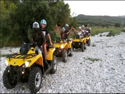Two-seater quad trip through Gandía 1h and 30 min