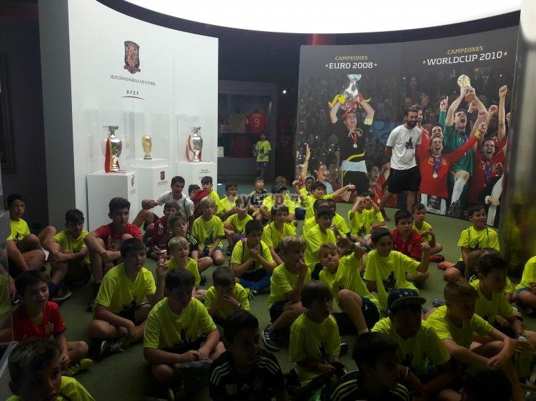 参观西班牙国家队博物馆