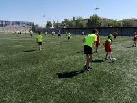 拉加雷纳运动场的训练