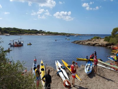 Alquiler de kayak 1 persona Colonia de Sant Jordi