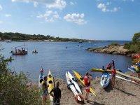 Kayak rental for groups