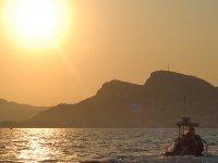 Atardecer en barco hasta las Islas Medes