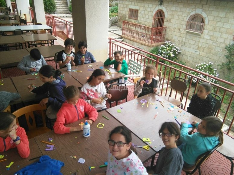 Campamento Collado Mediano Ingles
