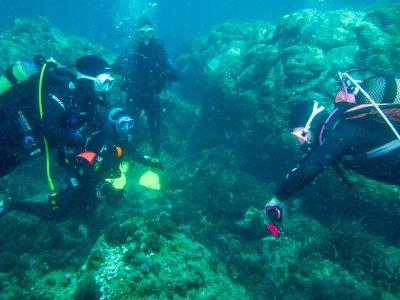 Cabo de Gata的开放水域潜水员课程