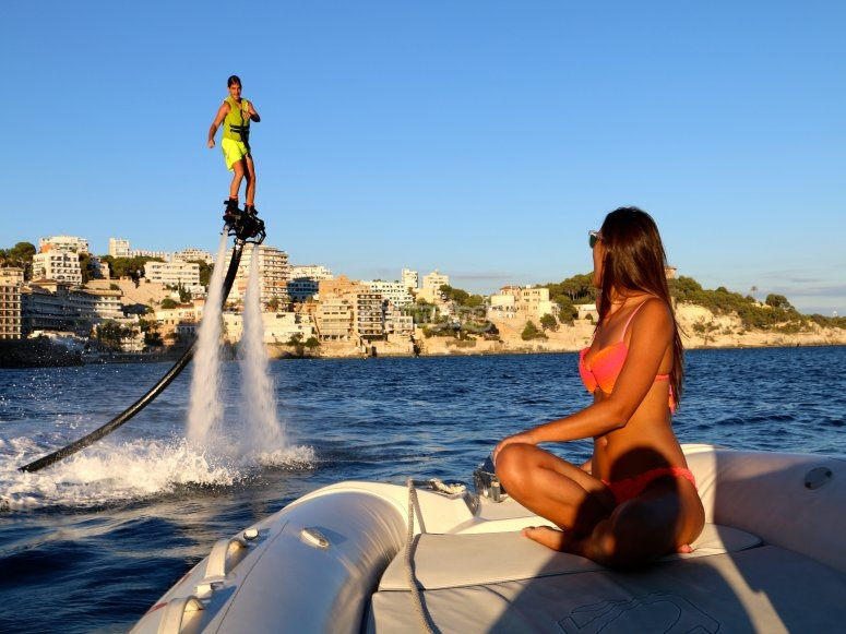Flyboard a Maiorca
