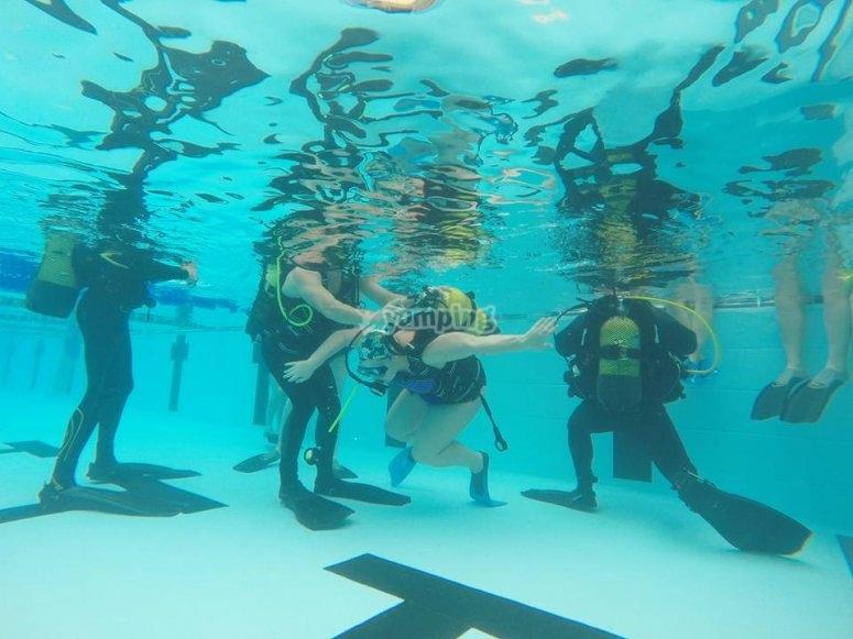 比斯开潜水课程