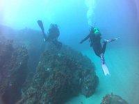 在普伦特西亚海底潜水