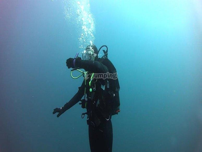 DSD con clases prácticas en el mar