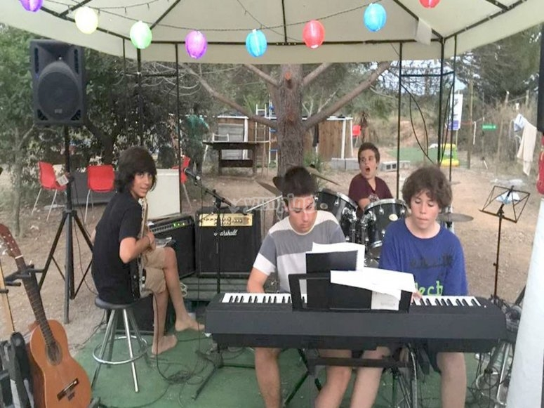 Musical rehearsals in nature