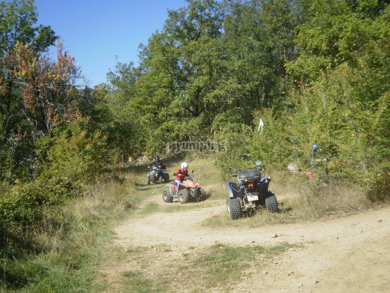 Off road quad tour