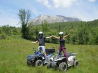 Quad tour for couples in Huesca