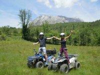 Salida en quad para parejas Huesca